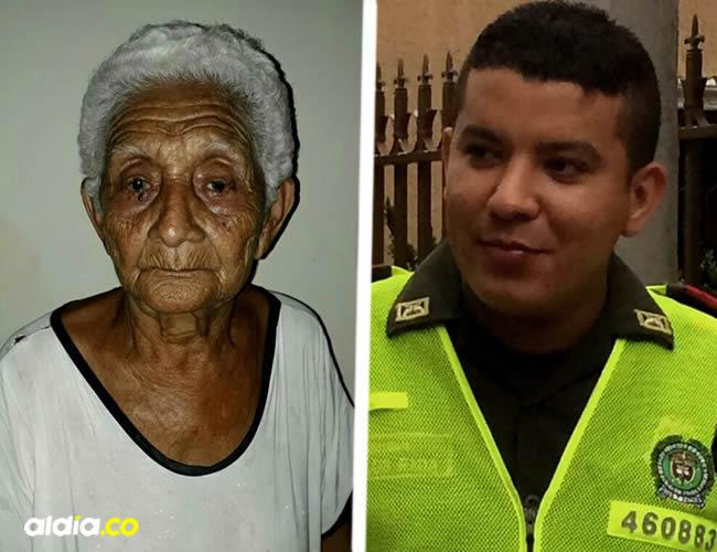 El patrullero de la Policía que los amenazó con una pistola responde al nombre de Carlos Parra | Archivos