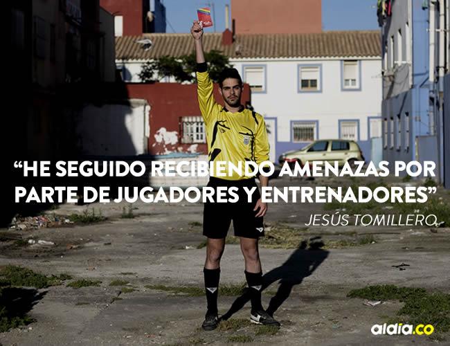 Jesús Tomillero, de 22 años, es oriundo de La Línea de la Concepción | Cortesía