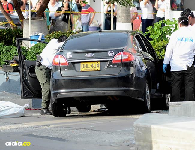 El hecho ocurrió en la calle 93 con carrera 45   Luis Felipe De la Hoz