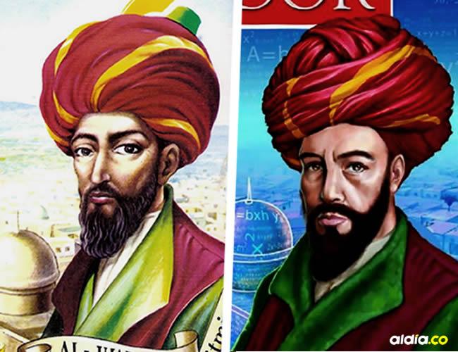 Aurelio Baldor escogió a Al-Juarismi, quien es la cara de la portada, porque sentía una gran admiración por el matemático persa | ALDÍA.CO