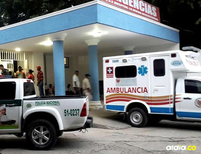 El bebé fue llevado hasta el hospital de Magangué pero ingresó sin signos vitales | Cortesía