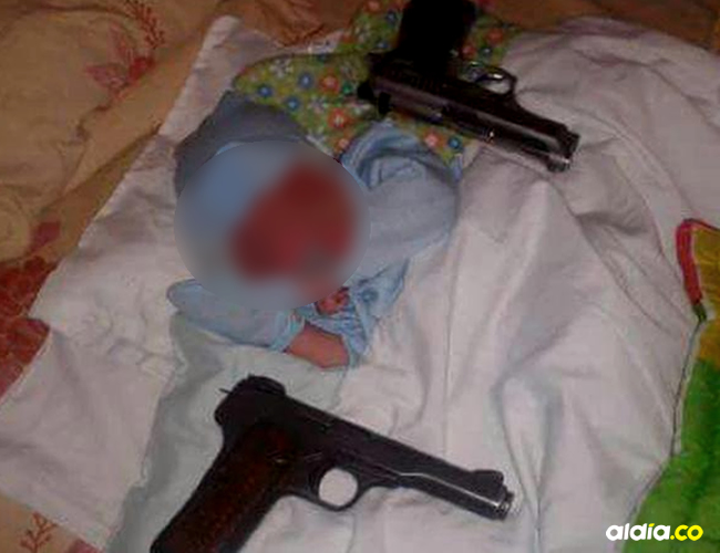 Familiares del delincuente comenzaron a agredir a los agentes | Cortesía