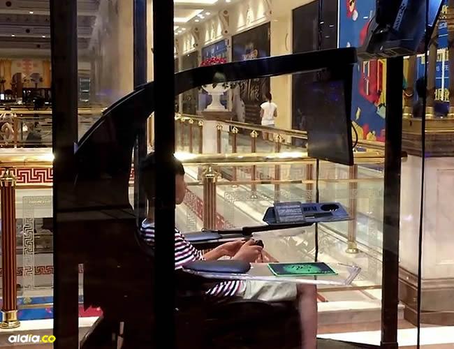 Están equipados con un sillón de masaje y una pantalla en la que el usuario puede ver su programa favorito o jugar a un videojuego | Cortesía