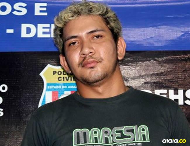 El hombre que aparece en la imagen es un brasilero llamado Wellington de Lima | Cortesía
