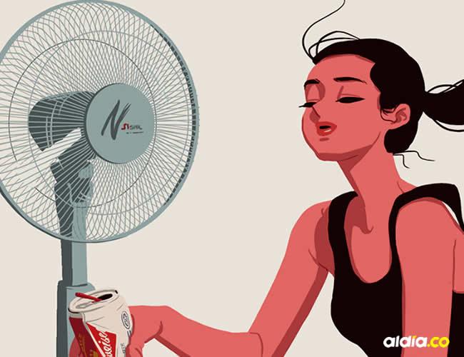 Con las altas temperaturas se hace difícil conciliar el sueño | Ilustrativa