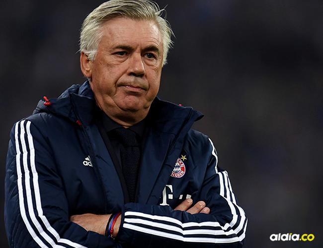 A pesar de sus excelentes referencias, a Ancelotti se le salió de las manos las estrellas del Bayern, lo que le costó su trabajo | AFP