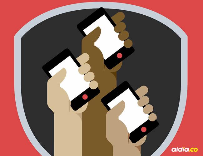 El 75% de las reparaciones de los celulares están relacionados con pantallas rotas | Ilustración