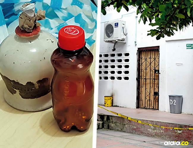 El menor encontró la sustancia en una bodega de la casa que acababan de arrendar | ALDÍA