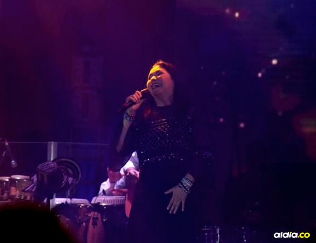 La cantante se presentó por primera vez en la ciudad | Jesús Rico