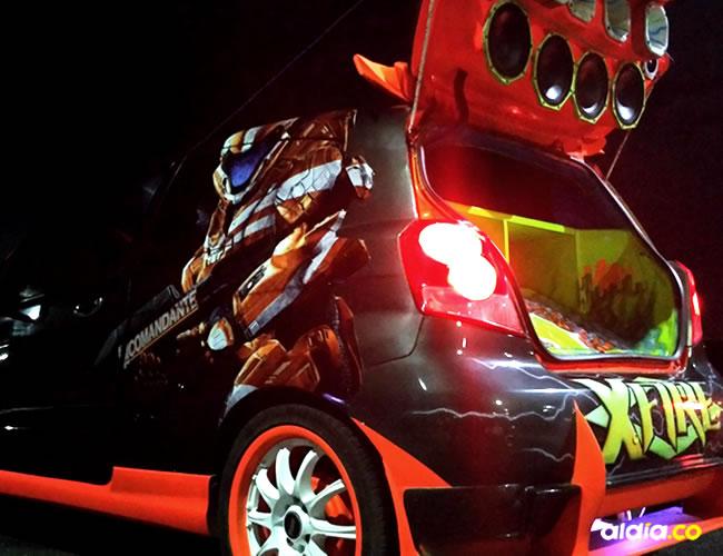 La imagen de su auto no es el producto final, pues quiere seguir mejorándolo y desea ponerle puertas tipo Lamborghini   Silvana Alba Márquez