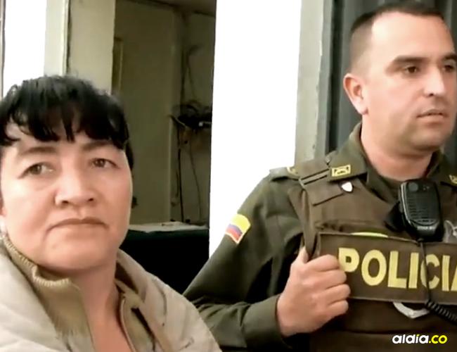 Fue llevada hasta la estación de Policía en donde la obligaron a desnudarse para poder requisarla | Captura