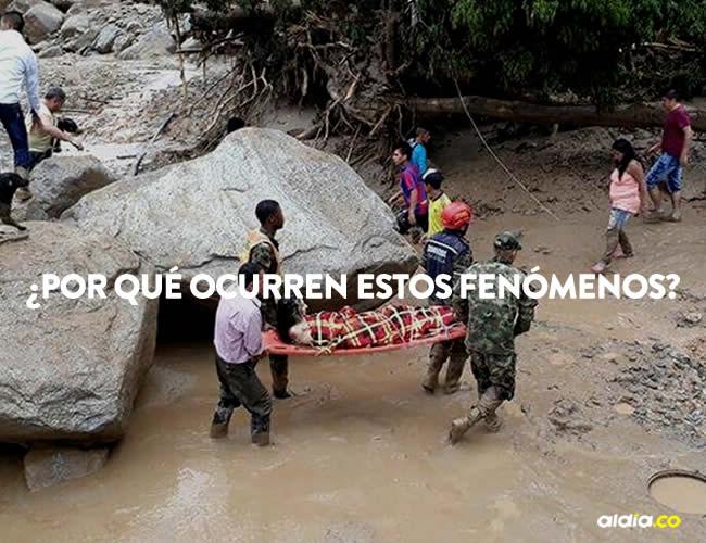 Según el presidente Juan Manuel Santos, el 30% de las lluvias se produjo este viernes   Cortesía