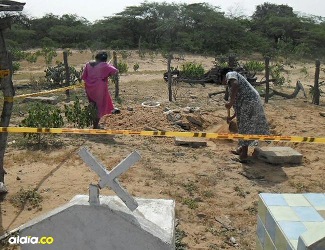 Un familiar del occiso reporto el caso con las autoridades y de inmediato fueron hasta la ranchería | ALDÍA