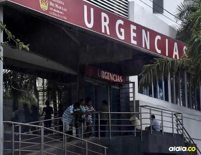 Los médicos de la clínica donde permanece el herido, manifestaron que no ha llegado ningún familiar a preguntar por él | Cortesía