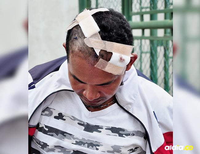 La víctima llegó a la clínica a buscar a un primo y allí se encontró con Fernando Fernández Esquivia | Cortesía