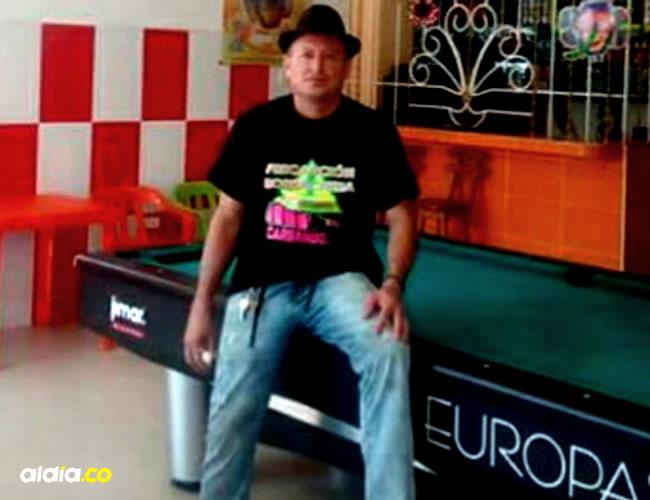 Estupiñan Rodríguez administraba un billar en el barrio San Carlos | Cortesía