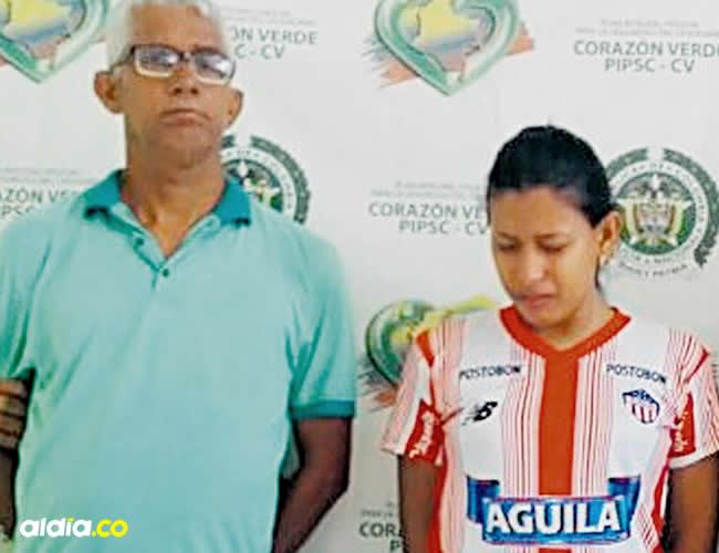 Apolinar Antonio Marchena, Wendy Paola Marchena Guerrero y Jonathan Smith Marchena Guerrero | Cortesía