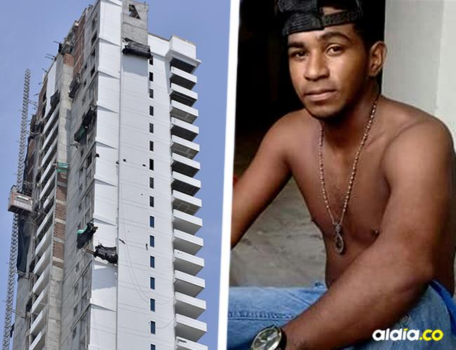 Se encontraba junto a su suegro Andrés Miranda, en un andamio colgante en el piso 12 de la construcción | Augusto Dangaud
