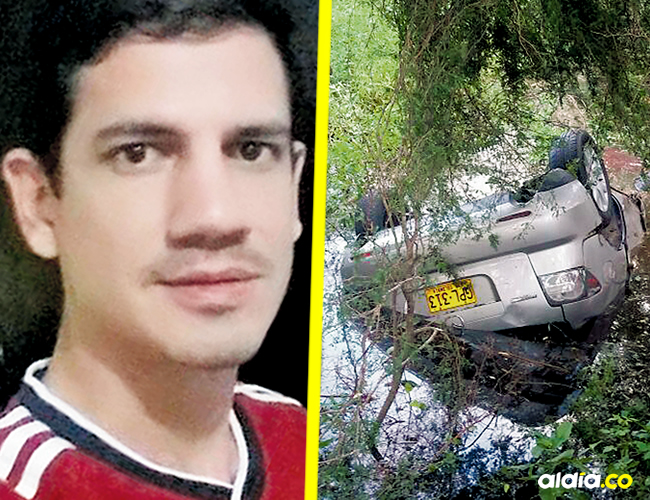 Una ambulancia auxilió a Emilio Rhenals, y lo trasladó a la urgencia de la clínica Portoazul | ALDÍA