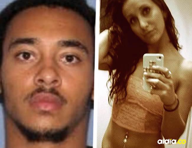 Cory Jackson fue acusado de robo agravado y complicidad en violación, mientras que Brittany Carter tiene cargos de violación   Cortesía