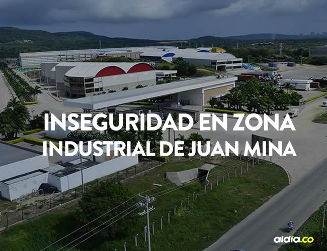 El corredor industrial cuenta con postes, pero no hay alumbrado público | Al Día