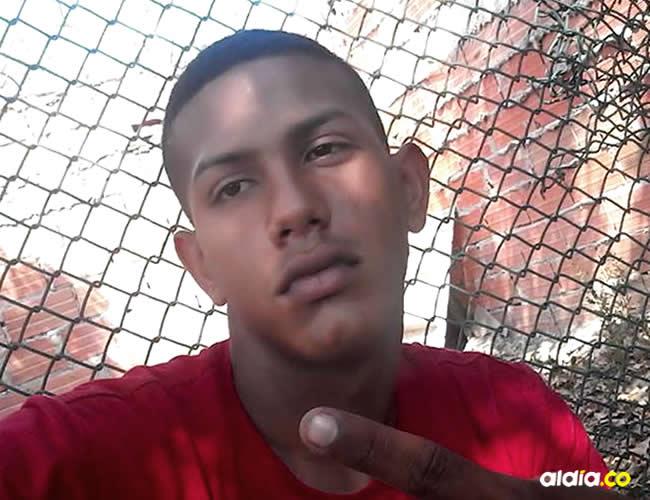 Jefferson David Villegas Zapata, 20 años, recibió cuatro balazos   ALDÍA