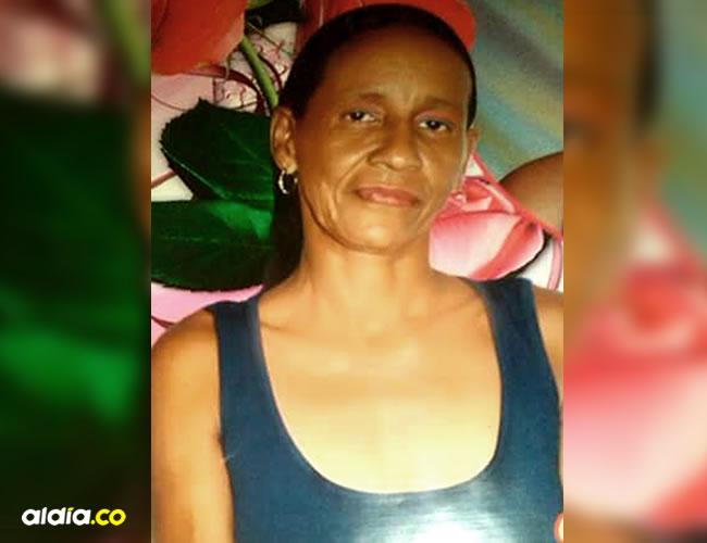 Luz Marina, de 48 años, falleció de un tiro que le perforó el pulmón derecho   ALDÍA