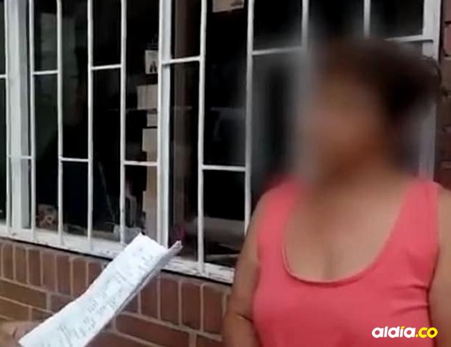 La mamá del pequeño de 13 años enfrentó a la pariente e inmediatamente la denunció | Policía de Bogotá