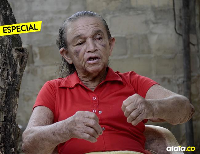 Esta vez una mujer de la tercera edad, era blanco de violencia desmedida esta vez para robarle $50 mil   Luis Felipe De la Hoz