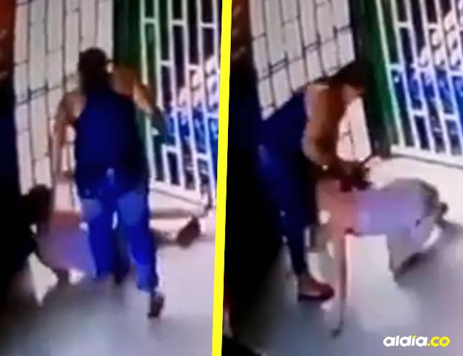 La pequeña permanece bajo observación médica debido a los terribles golpes | ALDÍA.CO