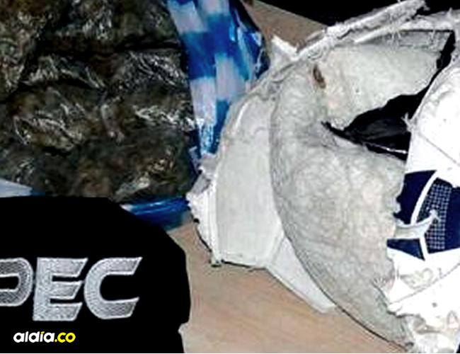 Decomisaron 750 gramos de marihuana que estaban dentro del balón de fúlbol | Cortesía