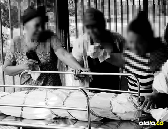 La adolescente se movilizaba en una motocicleta en compañía de su novio y otra joven | Leonardo Alvarado