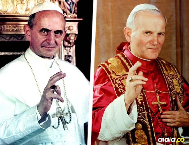 Pablo VI se puso de rodillas y le estampó un beso al pavimento del aeropuerto El Dorado de Bogotá | ALDÍA.CO