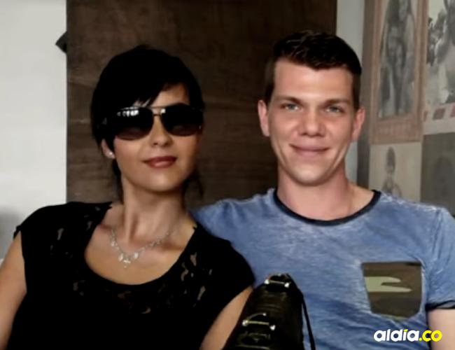 Vincent Georg Brauer e Irma Celina Cruz se conocieron por medio de una aplicación para encontrar pareja   Cortesía