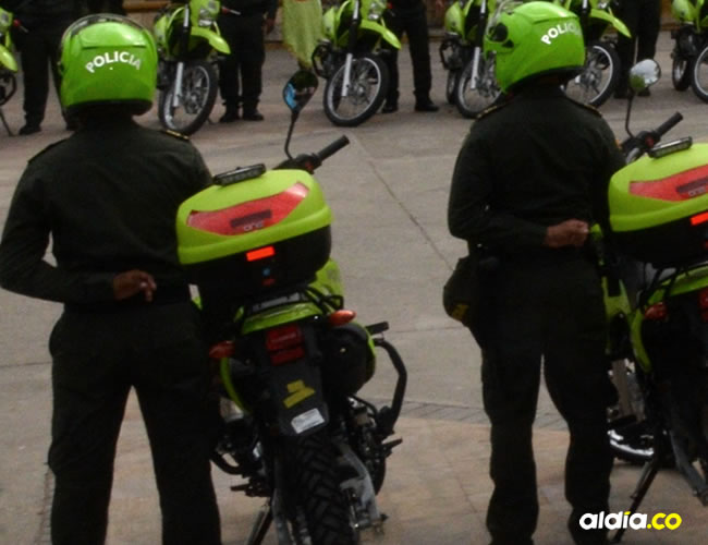 Este miércoles al mediodía el hombre se encontraba en la Estación de Maicao tras la captura que le hicieron sus compañeros | Cortesía