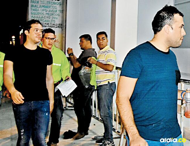 Los detenidos responden a los nombres de Danilo Rafael Daza Maestre y Andrés Adolfo Villamizar Gómez | ALDÍA