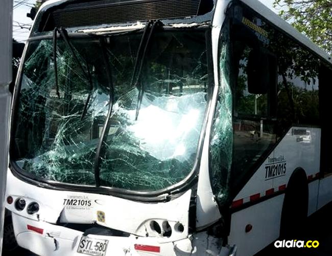 Los buses cubrían la ruta R1 y R10 | Jhonny Olivares