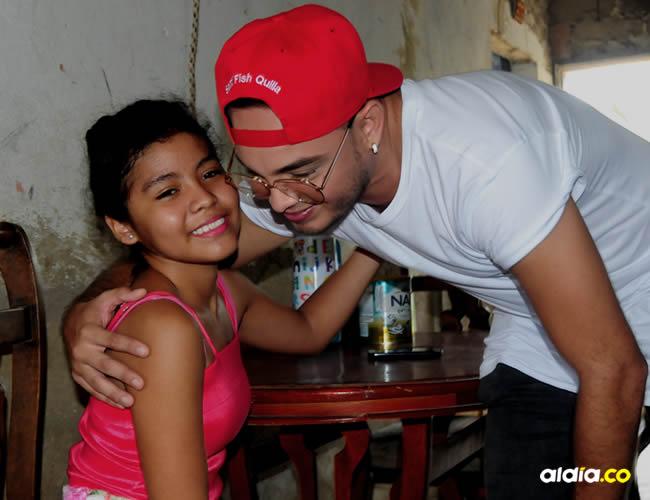 A Valerin le diagnosticaron hidrocefalia cuando apenas tenía seis meses de gestación | Johnny Olivares