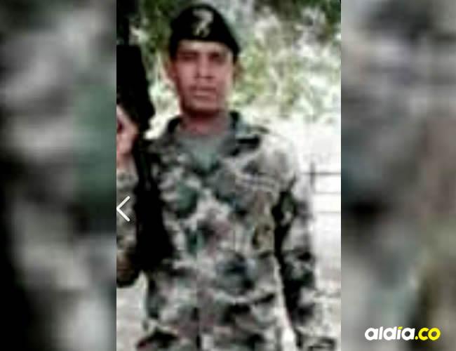 Marco Ayala Palacios había salido del Ejercito en diciembre del 2016   Cortesía