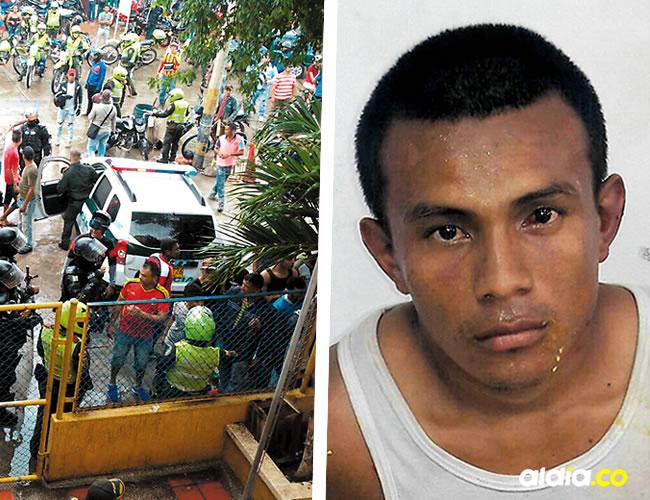 El aberrante hecho tiene consternada a la población que gritaba y lanzaba piedras a José Arnulfo Escudero Uriana | Cortesía