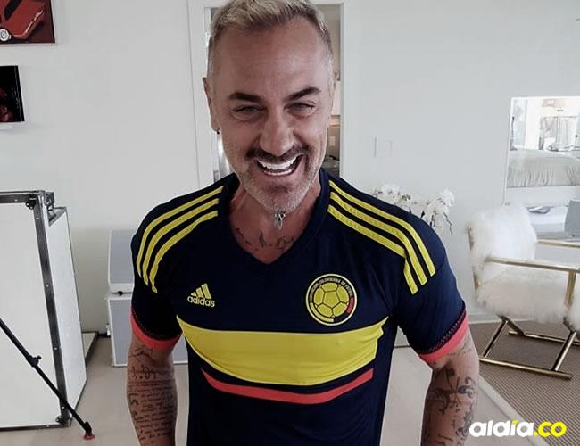 Gianluca Vacchi, de 49 años, debutará hoy en Colombia | Instagram