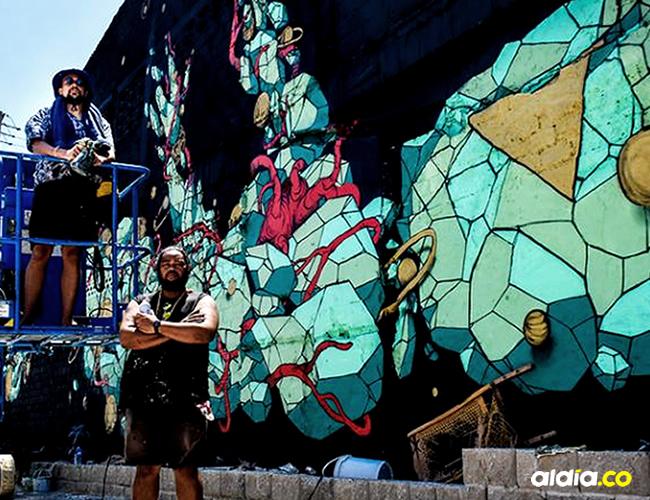 Kid Kreol (arriba) y Boogie (abajo) trabajan juntos desde el año 2004 | Cesar Bolívar