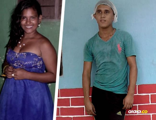 Lilibeth Vergara, de 17 años y Víctor Nieto Caro, de 22 años murieron tras chocar con una camioneta | ALDÍA.CO