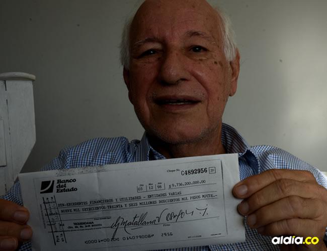 En 1998 Olave ocupaba el cargo de subdirector financiero del Icfes en Bogotá | ALDÍA