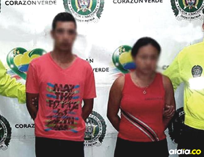 La pareja fue capturada por la unidad Investigación Criminal del Departamento de Policía y la Fiscalía 32 | Policía Nacional