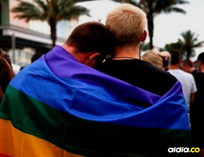 La pareja homosexual fue agredida fuertemente por cuatro jóvenes. | Tomada de: Internet.