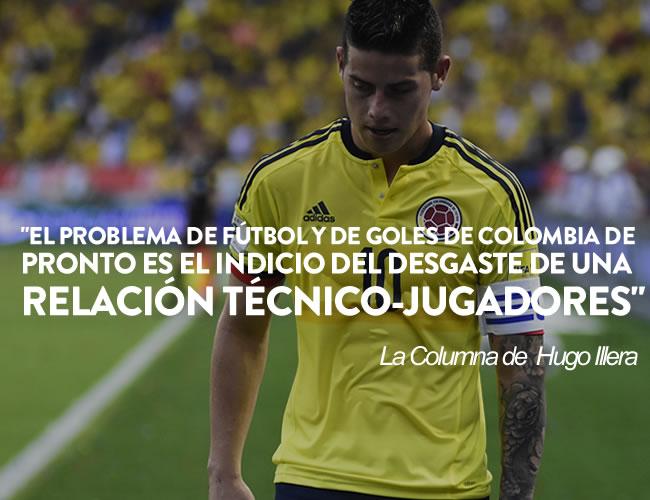 James Rodríguez fue autor del único gol contra la selección boliviana | Josefina Villareal