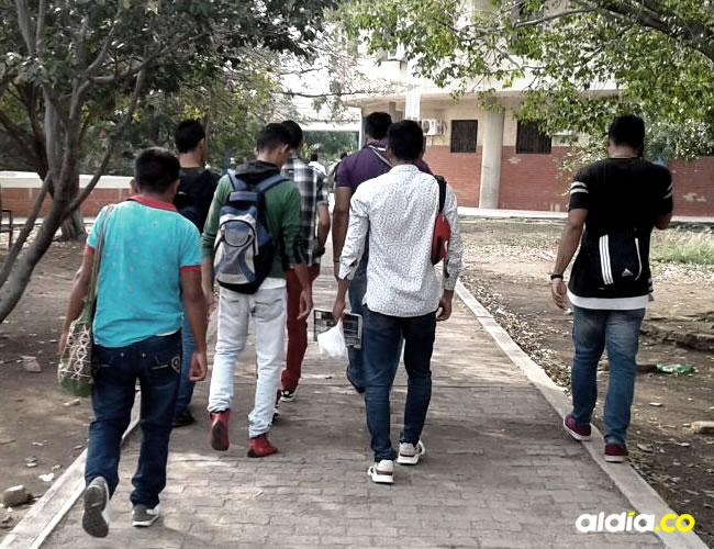 Los estudiantes fueron despojados de sus pertenencias | AL DÍA