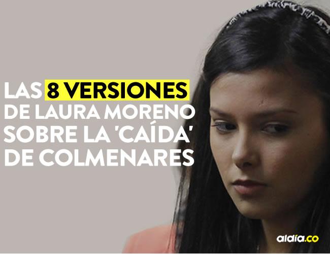 Las versiones entregadas por Laura Moreno fueron catalogadas como contradictorias según la Procuraduría | ALDÍA.CO