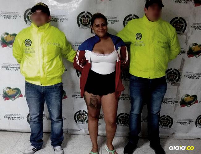 Yesica Lopera, la joven que se había fugado de la cárcel El Buen Pastor y en su recaptura posó sonriente | Cortesía